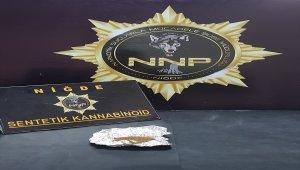 Niğde'de uyuşturucu operasyonu: 3 gözaltı
