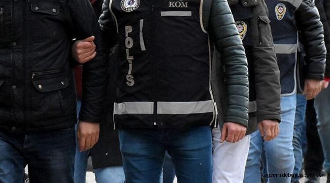 Kayseri'de haklarında kesinleşmiş hapis cezası bulunan 2 hükümlü yakalandı