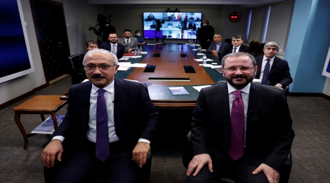 Hazine ve Maliye Bakanı Lütfi Elvan, AA Editör Masası'na konuk oldu: (6)