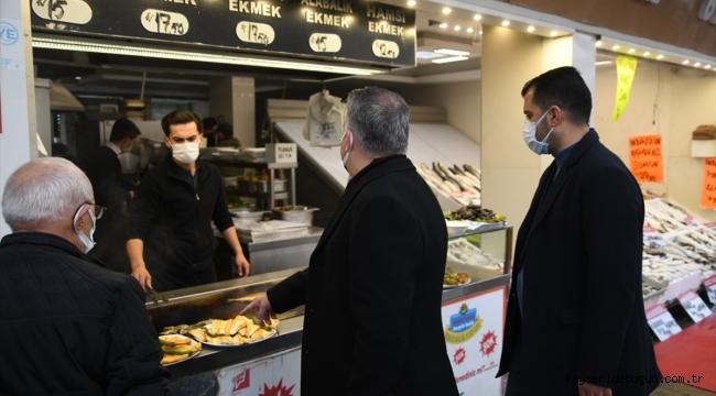 Kayseri'de gıda denetimi yapıldı
