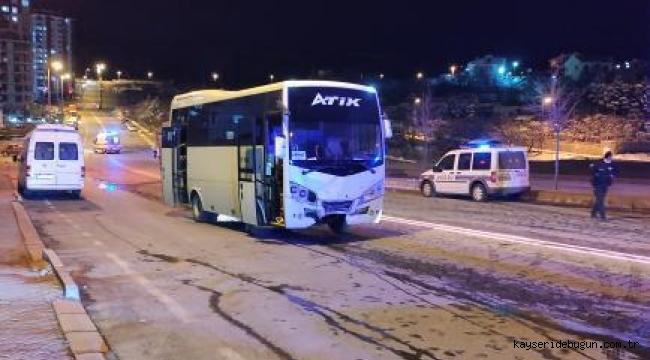Kayseri Talas'ta trafik kazası: 1 kişi hayatını kaybetti, 5 yaralı
