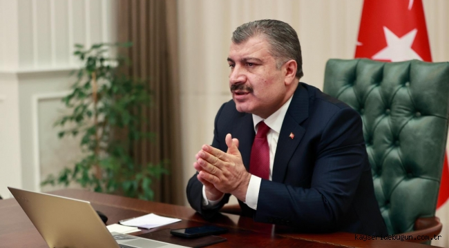 Sağlık Bakanı Koca, Kovid-19 riski düşük illerin, yüksek riskli illere örnek olmasını istedi