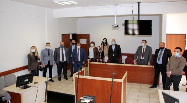 5 ülkeden gelen hakim ve savcılar Beypazarı Adliyesini ziyaret etti