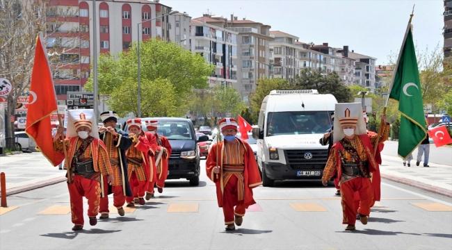 Aksaray Belediyesinden kısıtlamada evde kalan vatandaşlar için mehter konseri