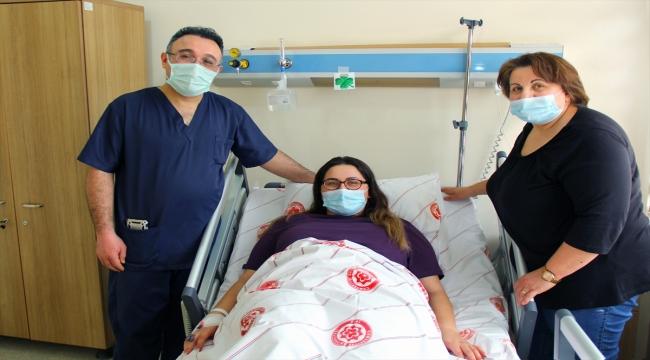 Almanya'dan gelen hasta Sivas'ta tüp mide ameliyatıyla sağlığına kavuştu