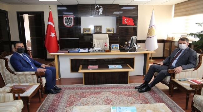 İl Özel İdaresi Genel Sekreteri Kadir Algın'a hayırlı olsun ziyaretleri sürüyor