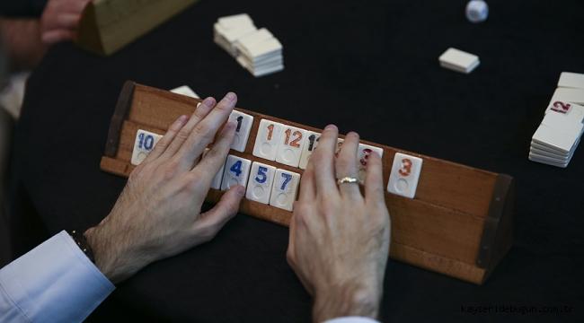 Kayseri'de Kovid-19 tedbirlerini ihlal ederek okey oynayan 8 kişiye 27 bin 680 lira ceza