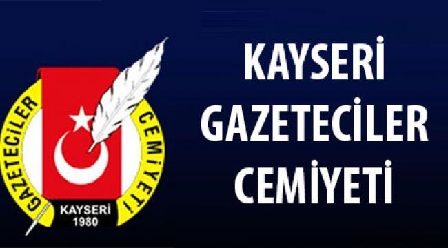 Kayseri Gazeteciler Cemiyeti'nde görev dağılımı yapıldı