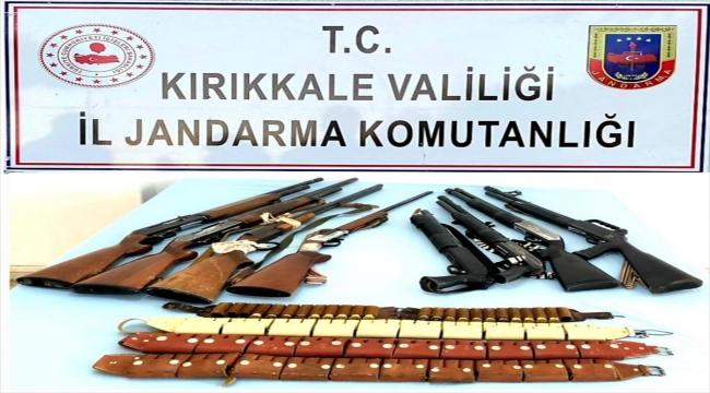 Kırıkkale'de uyuşturucu ve kaçakçılık operasyonlarında 4 kişi gözaltına alındı