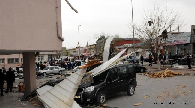 Meteorolojiden Kayseri, Nevşehir, Kırşehir, Yozgat ve Sivas için fırtına uyarısı