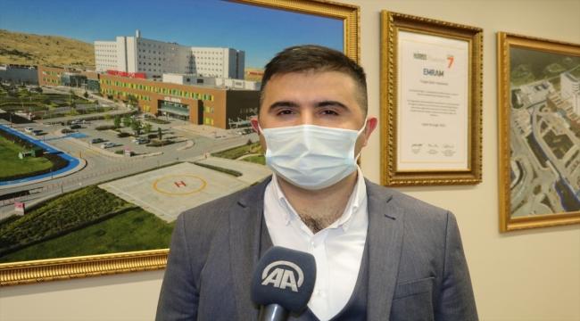 """Yozgat Şehir Hastanesinde """"dil terapisi"""" ile çocuklar konuşma güçlüğünü yeniyor"""