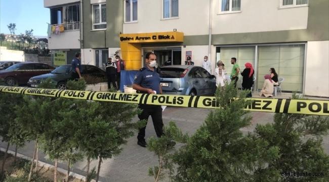 Kayseri Talas'ta 14'üncü kattan düşen 3 yaşındaki çocuk hayatını kaybetti