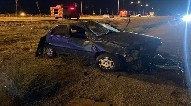 Konya'da otomobil devrildi: 2 ölü, 2 yaralı