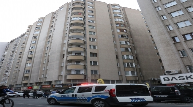 Havalandırma boşluğuna düşen apartman görevlisi hayatını kaybetti