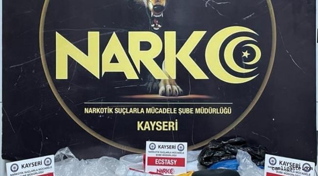 Kayseri'de bağ evine uyuşturucu operasyonu: 3 kişi yakalandı