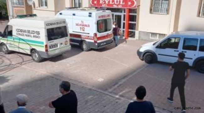 Kayseri Serkent'te intihar
