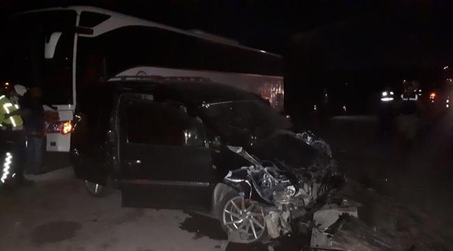 Sivas'ta trafik kazalarında 11 kişi yaralandı