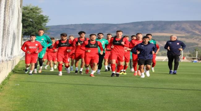 Sivasspor'da Gaziantep maçı hazırlıkları başladı