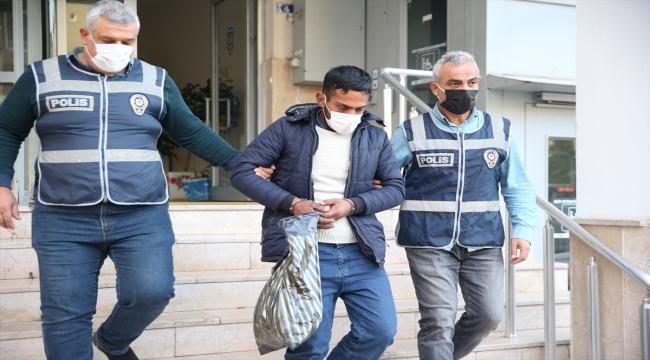 Kayseri'de hırsızlık zanlısı motosiklet çalarken yakalandı